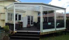 Prelate transparente pentru terase